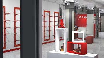 дизайн магазина в торговом центре