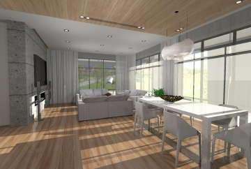 дизайн дома в Днепре