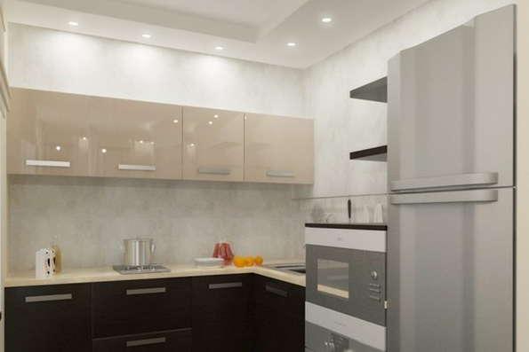 кухни реальные фото в интерьере