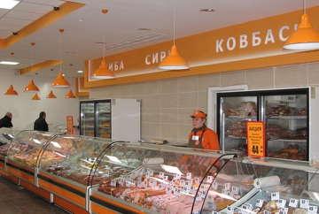 дизайн продовольственного магазина