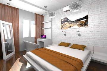 спальня дизайн Днепропетровск