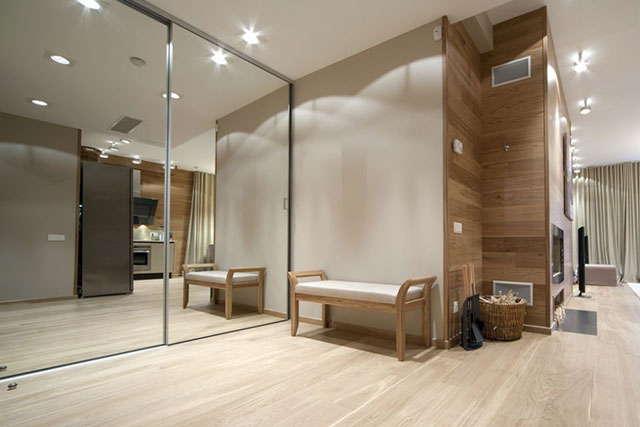 организация пространства в квартире, визуальное увеличение пространства