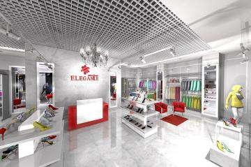 Интерьер магазина одежды2