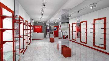 Магазин обуви дизайн днепр