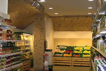 Дизайн супермаркета