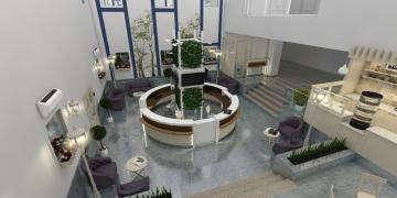 Холл клиники дизайн