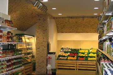 интерьер супермаркета