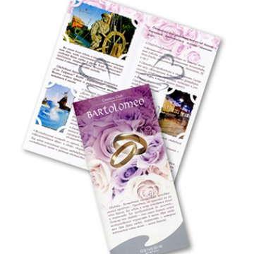 свадебный буклет