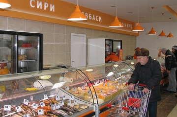 отделы супермаркета