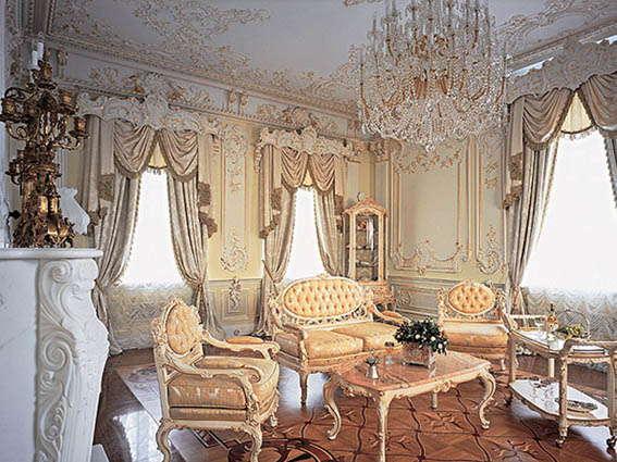 стиль барокко в интерьере, барокко в интерьере, барокко